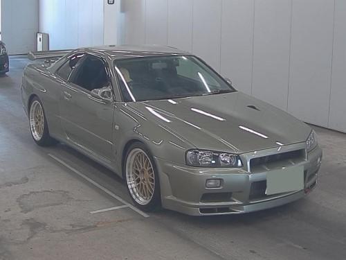 2000 Nissan Skyline GTR V Spec II Nur full