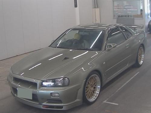 2000 Nissan Skyline GTR V Spec II Nur