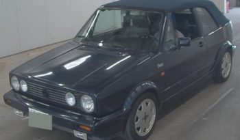 1991 VW Golf Cabriolet Classic Line