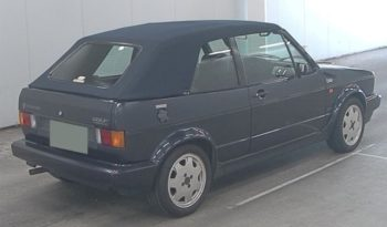 1991 VW Golf Cabriolet Classic Line full